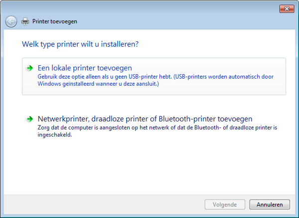 Voeg de PDF-printer toe (2)
