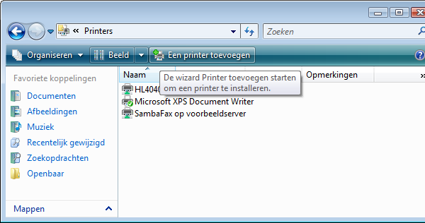 Voeg de PDF-printer toe (1)